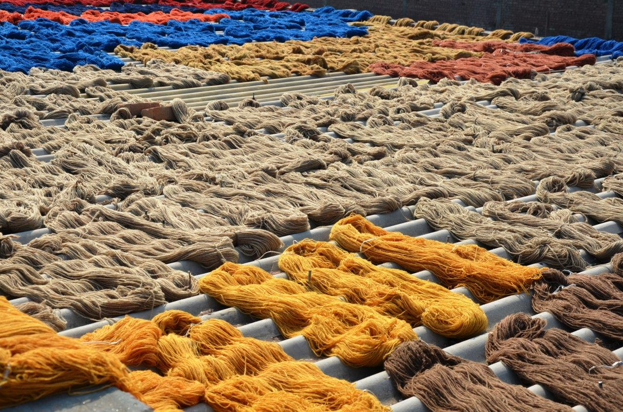 yarn drying1